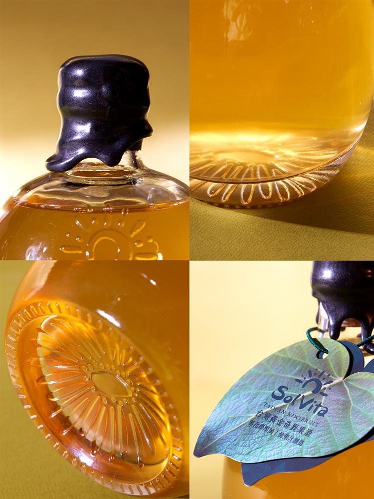 酿出金黄透亮的台湾首支奇异果酒(猕猴桃酒)