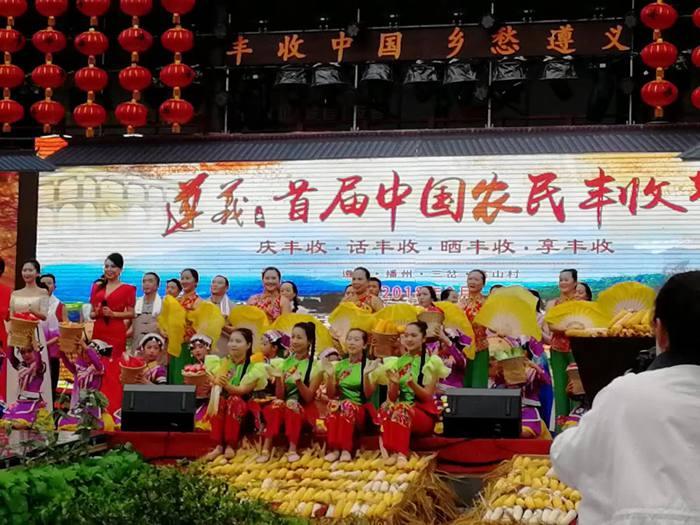 贵州遵义播州区举办了红心猕猴桃采摘节 2019 2020