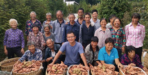 成都這場大雨,讓蒲江獼猴桃一夜之間刷爆了我們種植者的朋友圈