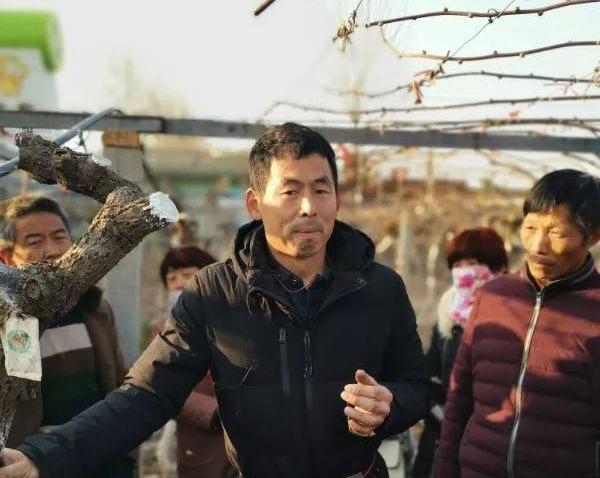 猕猴桃专家高昊昱老师到贵州修文县春季管理培训